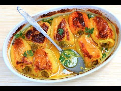 Punjena paprika sa krompirom - Škola kuvanja