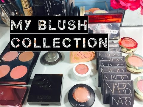 My Makeup Collection: Blushes