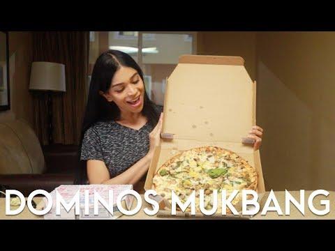 DOMINOS PIZZA MUKBANG (Bahasa Indonesia)