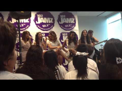Fifth Harmony do impressions of each other
