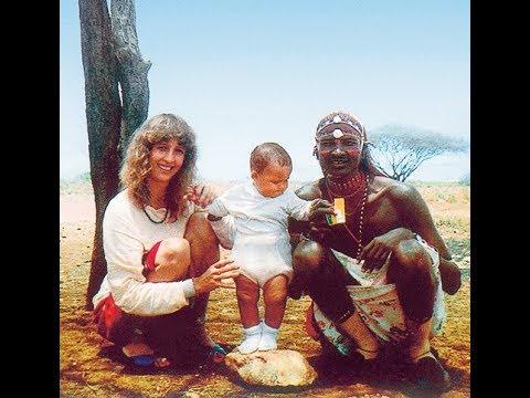 История любви воина масаи и белой девушки.Реальные события.