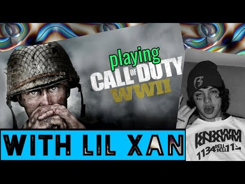 playing COD with LIL XAN