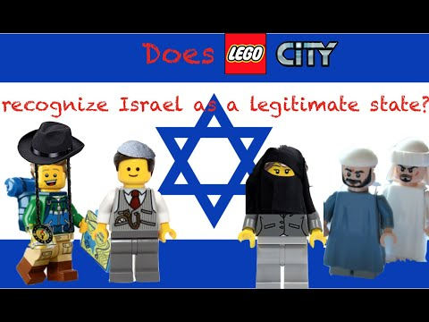 DOES LEGO CITY RECOGNIZE ISRAEL AS A LEGITIMATE STATE?
