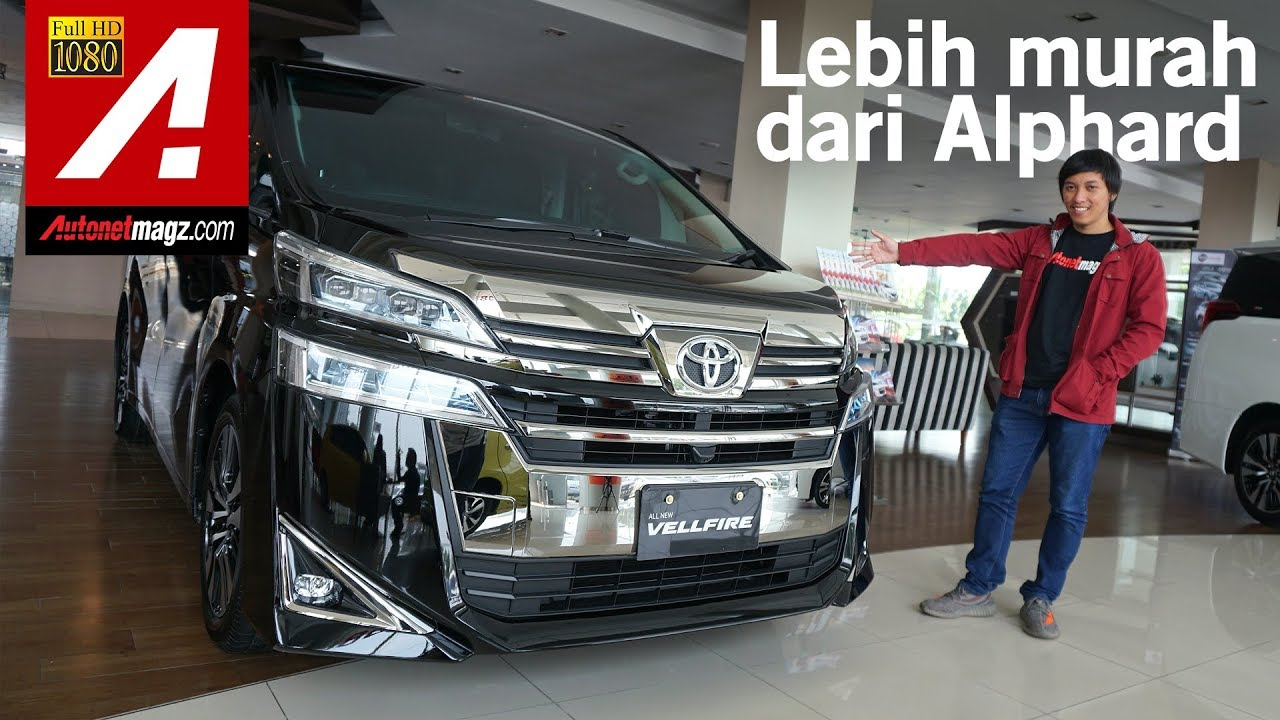 harga all new vellfire grand avanza 2018 toyota facelift first impression review by autonetmagz