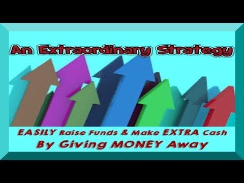 EASILY Raise Funds OR Make Extra Cash By Giving Money Away & Get Paid To Shop