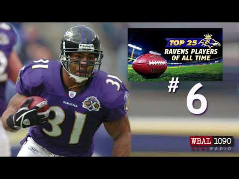 The Top 25 Ravens Players Of All Time # 6 Jamal Lewis