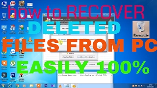 How to REcover permanently Deleted Files from computer with recuva software 100% recovery in pc