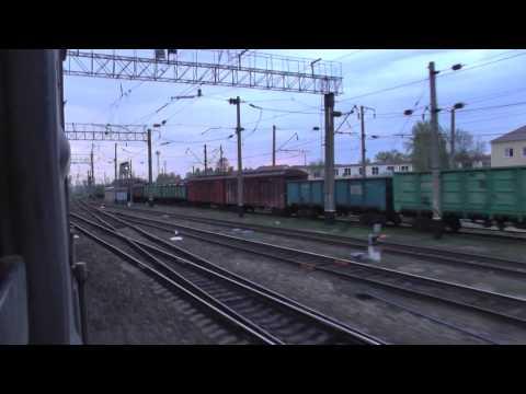 Отправление со станции Красноуфимск, рассвет и немного города
