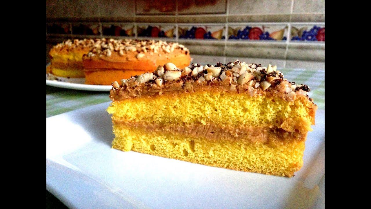 как приготовить самый легкий торт