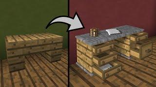 все відео про майнкрафт як зробити меблі