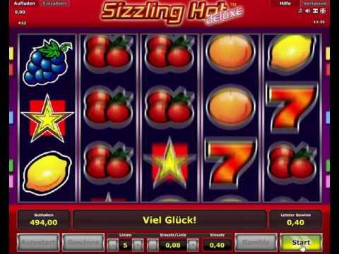 Sizzling Hot Deluxe - Novoline Spielautomat Kostenlos Spielen