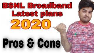 BSNL Broadband latest plans ! BSNL Broadband Pros and Cons