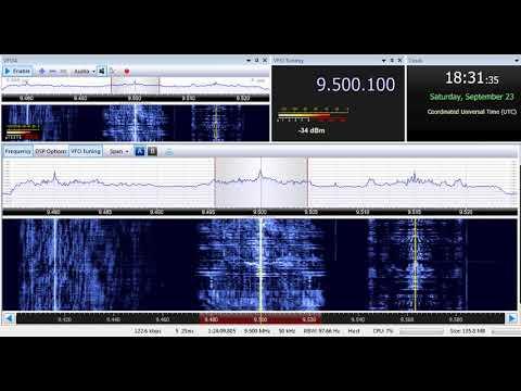 23 09 2017 Trans World Radio Africa in English to EaAf 1830 on 9500 Manzini