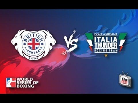 British Lionhearts - Italia Thunder - Week 2 - WSB Season 3