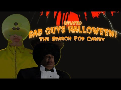 Second Life - Belated Bad Guys Halloween: The Search for Candy (trolling)