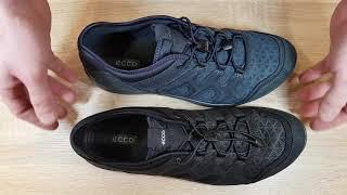 обзор мужских кроссовок EССO  TERRACRUISE LT