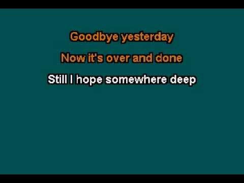 Karaoke - FOREIGNER   THAT WAS YESTERDAY