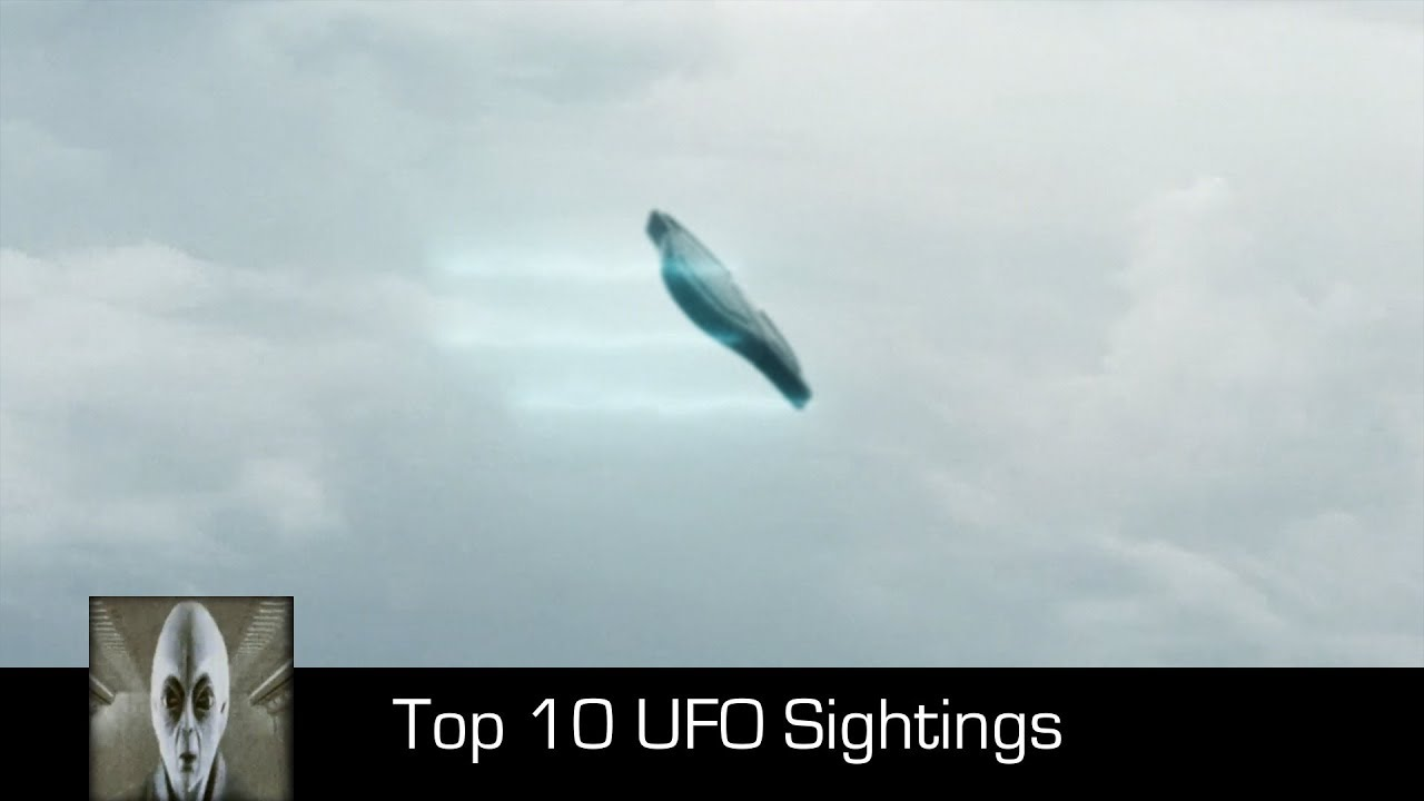 Top 10 UFO Sightings October 2017