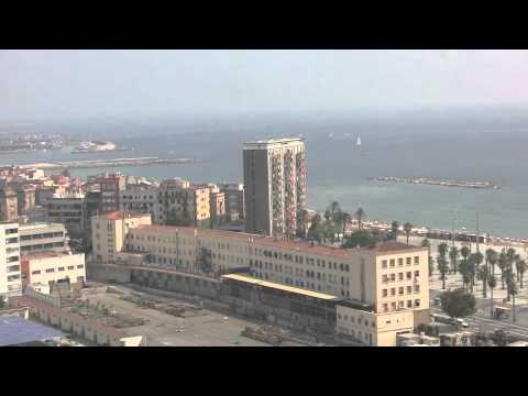 Cable car ride over Port de Barcelona to Montjuic, Barcelona, Spain - 24th August, 2011