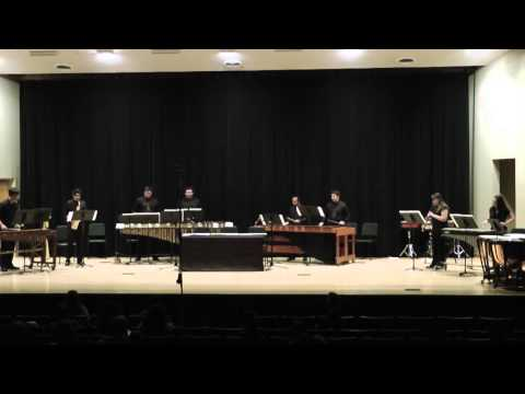Music in Similar Motion - Philip Glass - CSU Stanislaus Percussion Ensemble & Friends