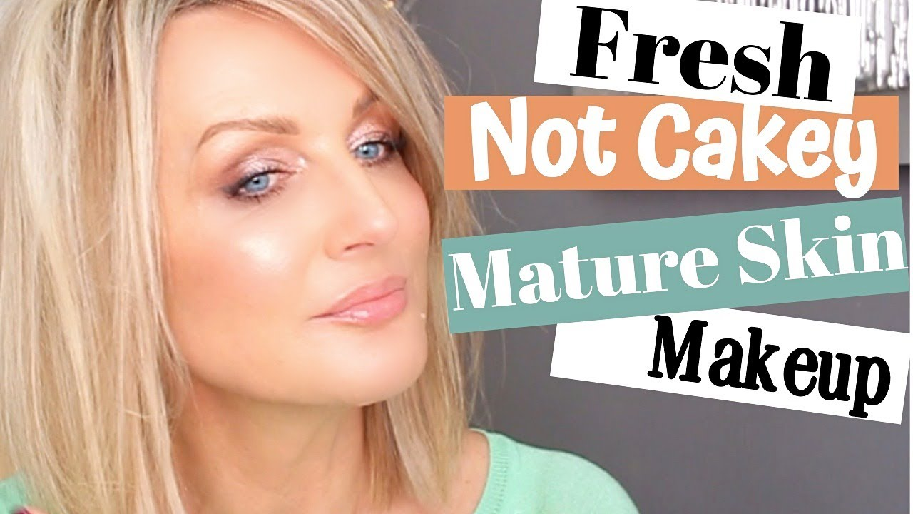Mature Skin Makeup- Fresh Not Cakey and Game Changing Blush Application