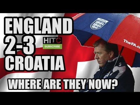 England 2-3 Croatia: Where Are The Starting XI Now?