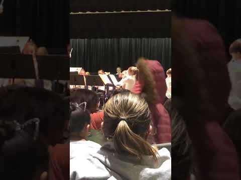 EAST WINDSOR MIDDLE SCHOOL WILDCAT BAND CONCERT 12/11/2018