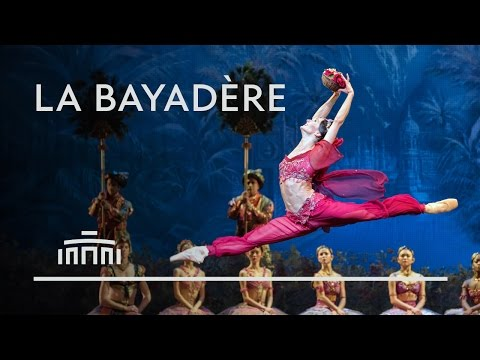 Beautiful ballet classic La Bayadère: trailer (2016)