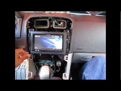 hqdefault 2006 chevrolet equinox pioneer stereo install youtube  at mifinder.co