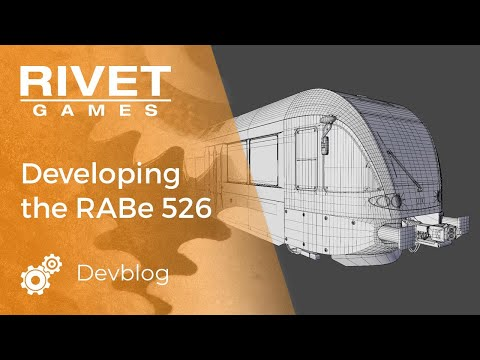 Building Thurbo's RABe 526 For Lake Constance For Train Simulator