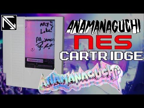 Anamanaguchi NES Cartridge Showcase
