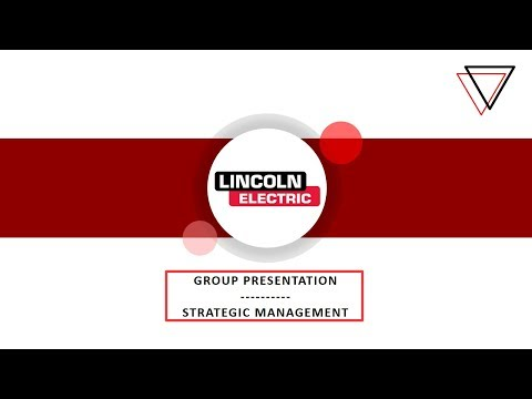 FPT Greenwich - TBS1903 Class - Strategy Management - Lincoln Case Study Analysis