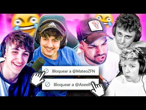 🤣😡 MATEOZ Y AXEL BLOQUEADOS 😡🤣 - Mejores Momentos Twitch España #mejoresmomentos #twitch