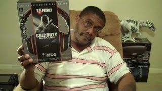 EAR FORCE TANGO (Black Ops II headset) UNBOXING