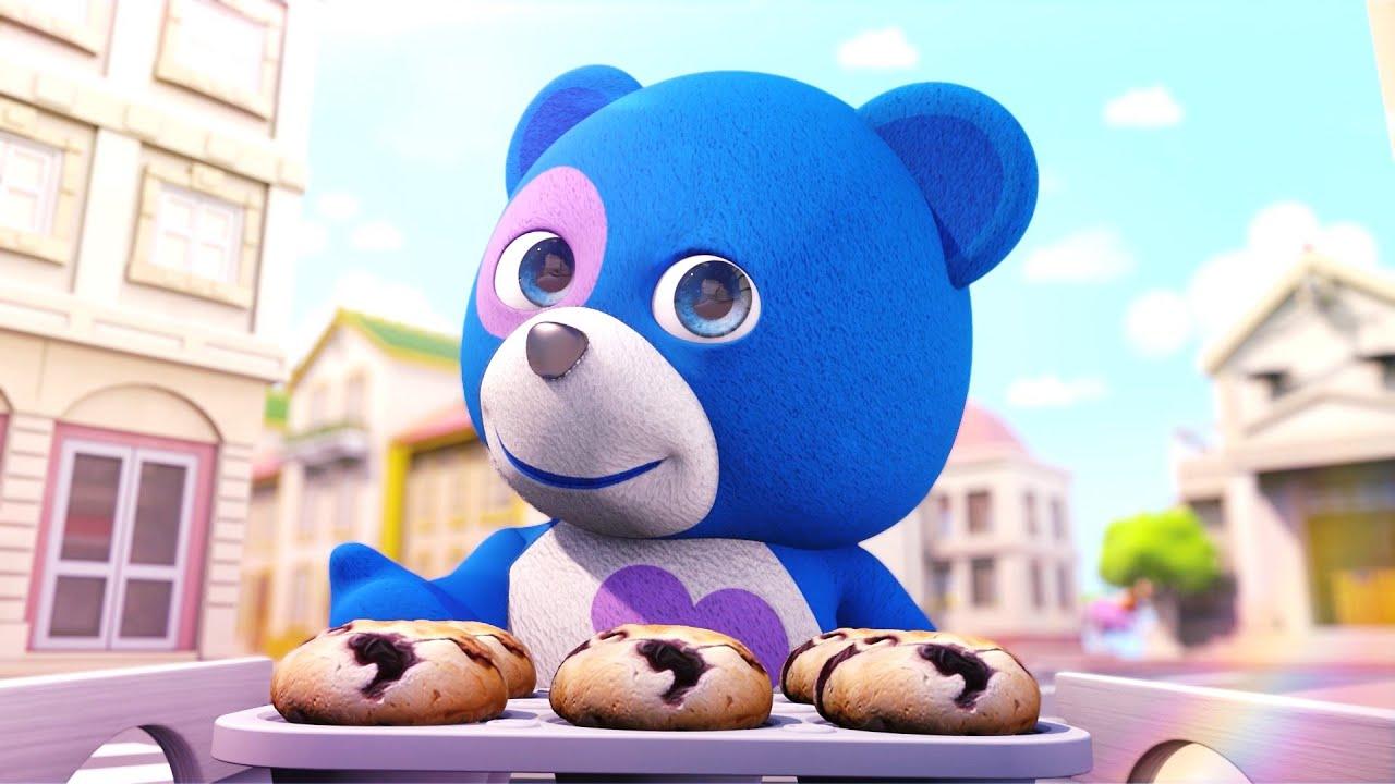 The Muffin Man | Blue Bagoo - English Kids Songs and Nursery Rhymes