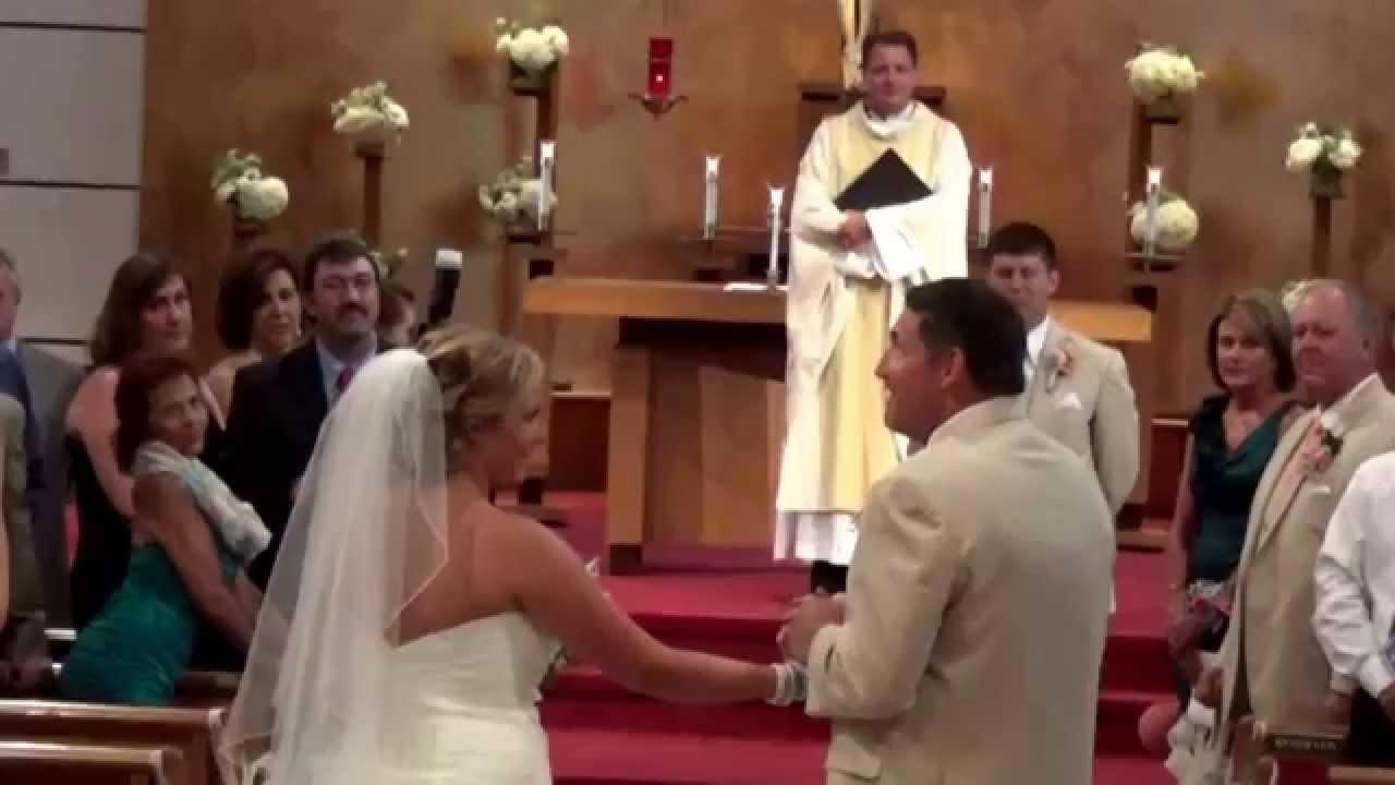 Unique Bride Father Of The Wedding Entrance