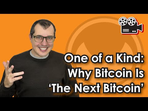 One Of A Kind: Why Bitcoin is 'The Next Bitcoin'