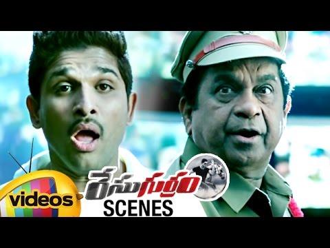 Brahmanandam Hilarious Entry as KILLBILL PANDEY   Race Gurram Movie Scenes   Allu Arjun