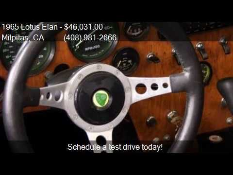 1965 Lotus Elan  for sale in Milpitas, CA 95035 at NBS Auto