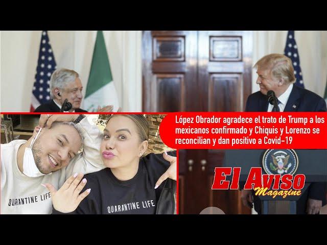 Ayuda para la renta, famosos se pelean,  visita de AMLO y roba a ex Miss Universo - El Aviso