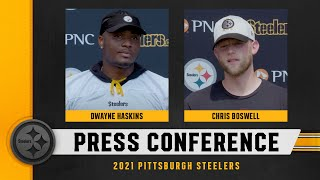 Steelers Press Conference (Aug. 25): Dwayne Haskins, Chris Boswell
