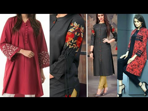 100 Mid Summer Branded Kurties Dress Designs 2019 Youtube