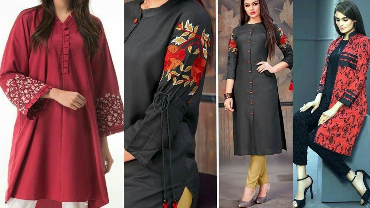 100+ Mid Summer Branded Kurties & Dress Designs 2019