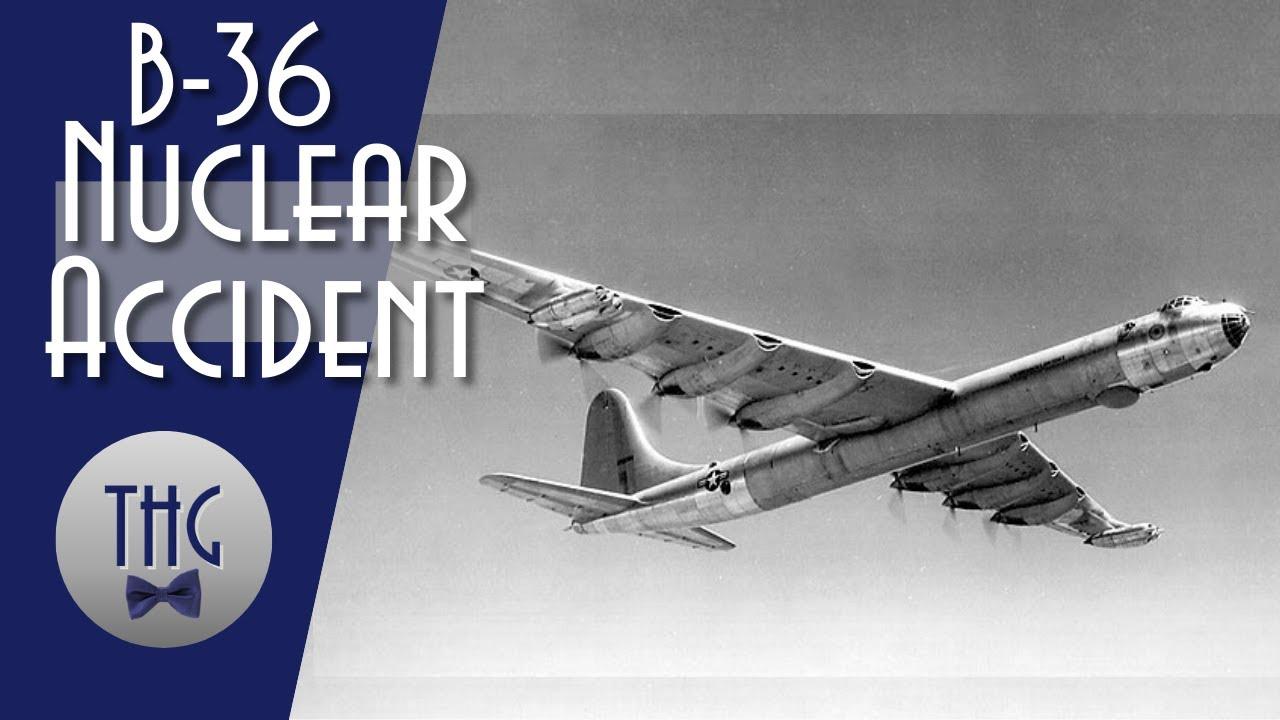 B-36 Bomber Nuclear Accident, Albuquerque, 1957