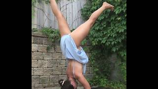 Hot yoga workout how to do leg split stretcher training for beginners