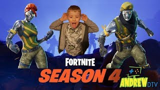 Fortnite With Friends!! Season 4!!
