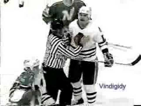 Chicago - Minnesota hits and melee 89-90