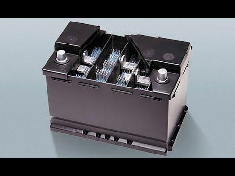 Fabricación y detalles de acumuladores baterías de arranque.