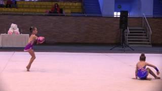 Nastya I Taya художественная  гимнастика Харьков 20 21 11 2011