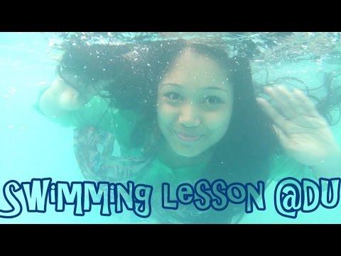 Swimming lesson @Dhaka University Swimming Pool